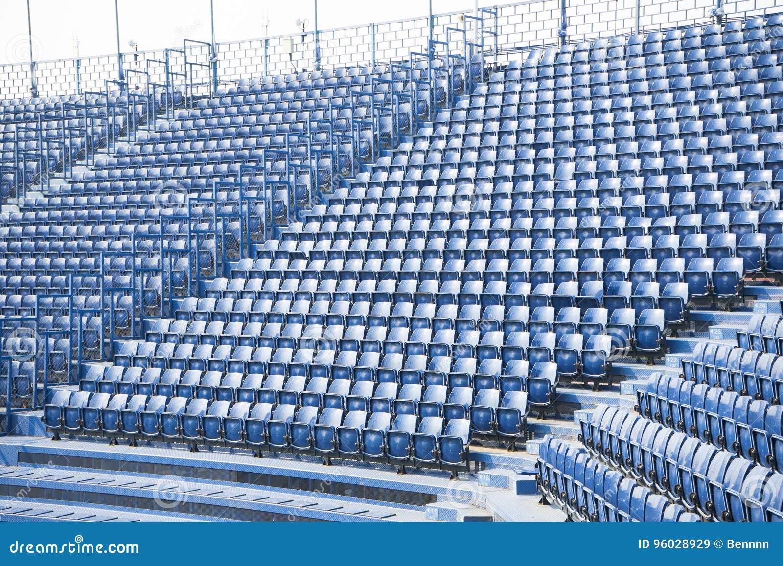 Puste siedzenie w stadium
