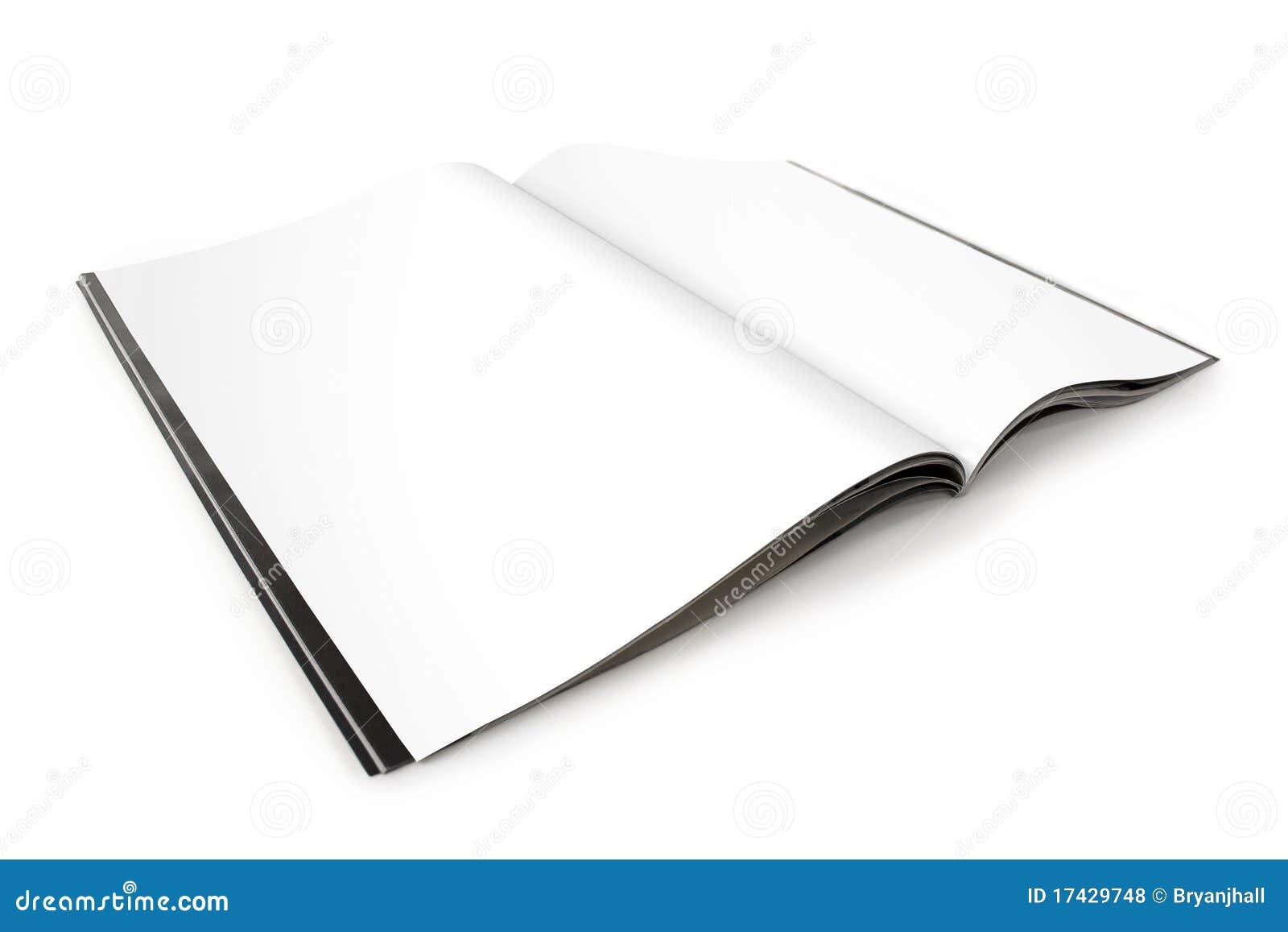 Pustego magazynu otwarte strony rozprzestrzeniać