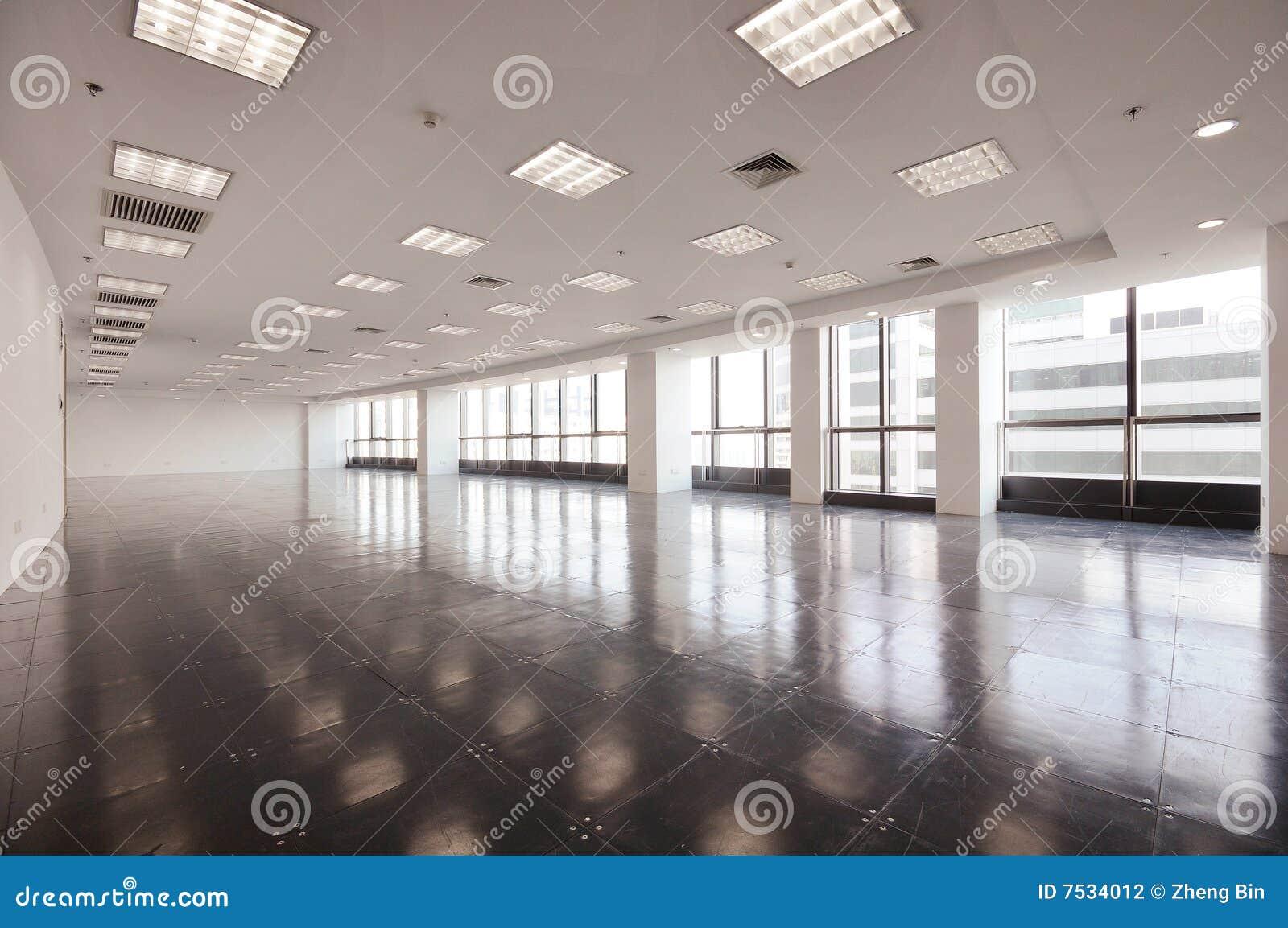 Pusty biurowy pokój