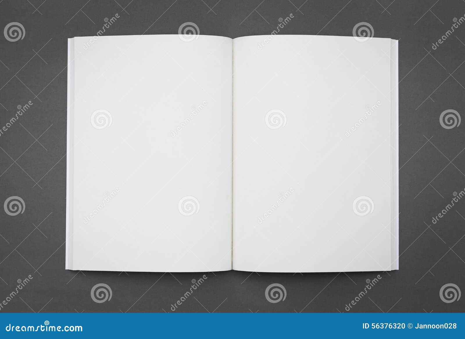 Pusty katalog, broszurka, magazyny, książka