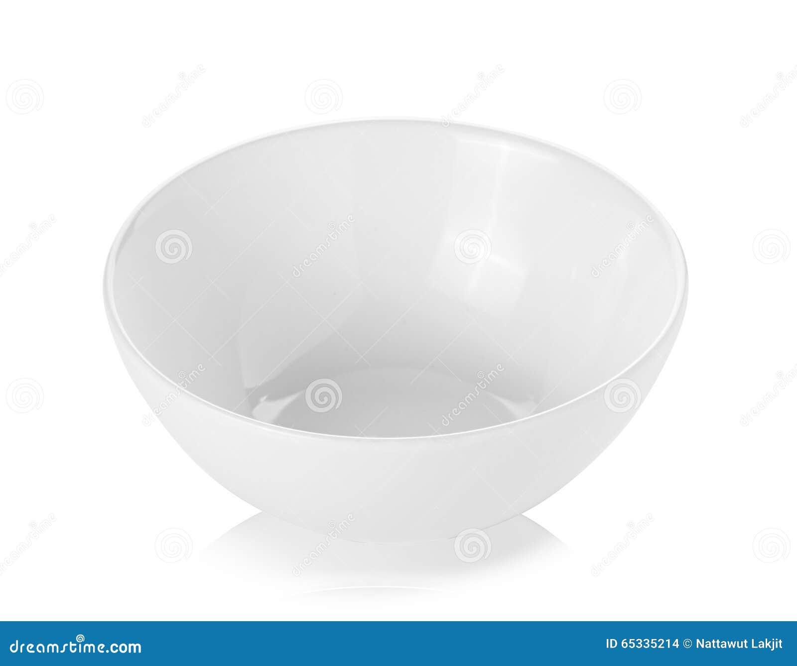 Pusty miski white