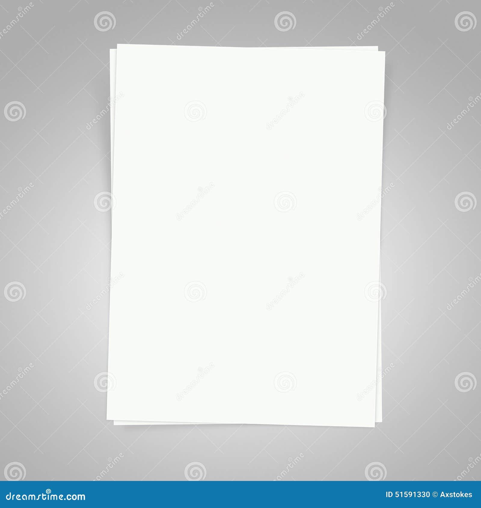 Pusty papieru