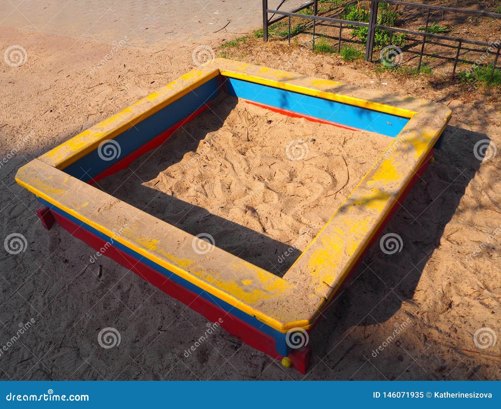Pusty piaska boisko