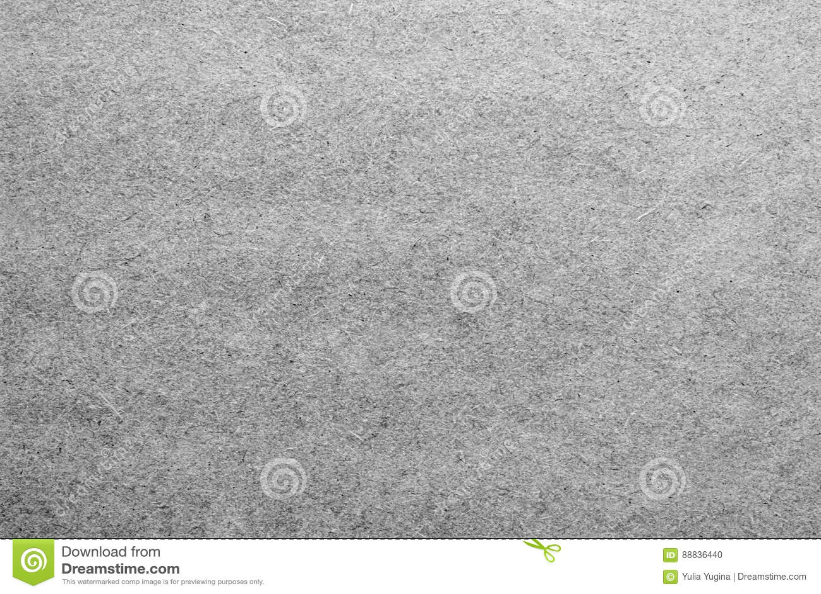 Pusty prześcieradło papier lub dykta w popielatych colours