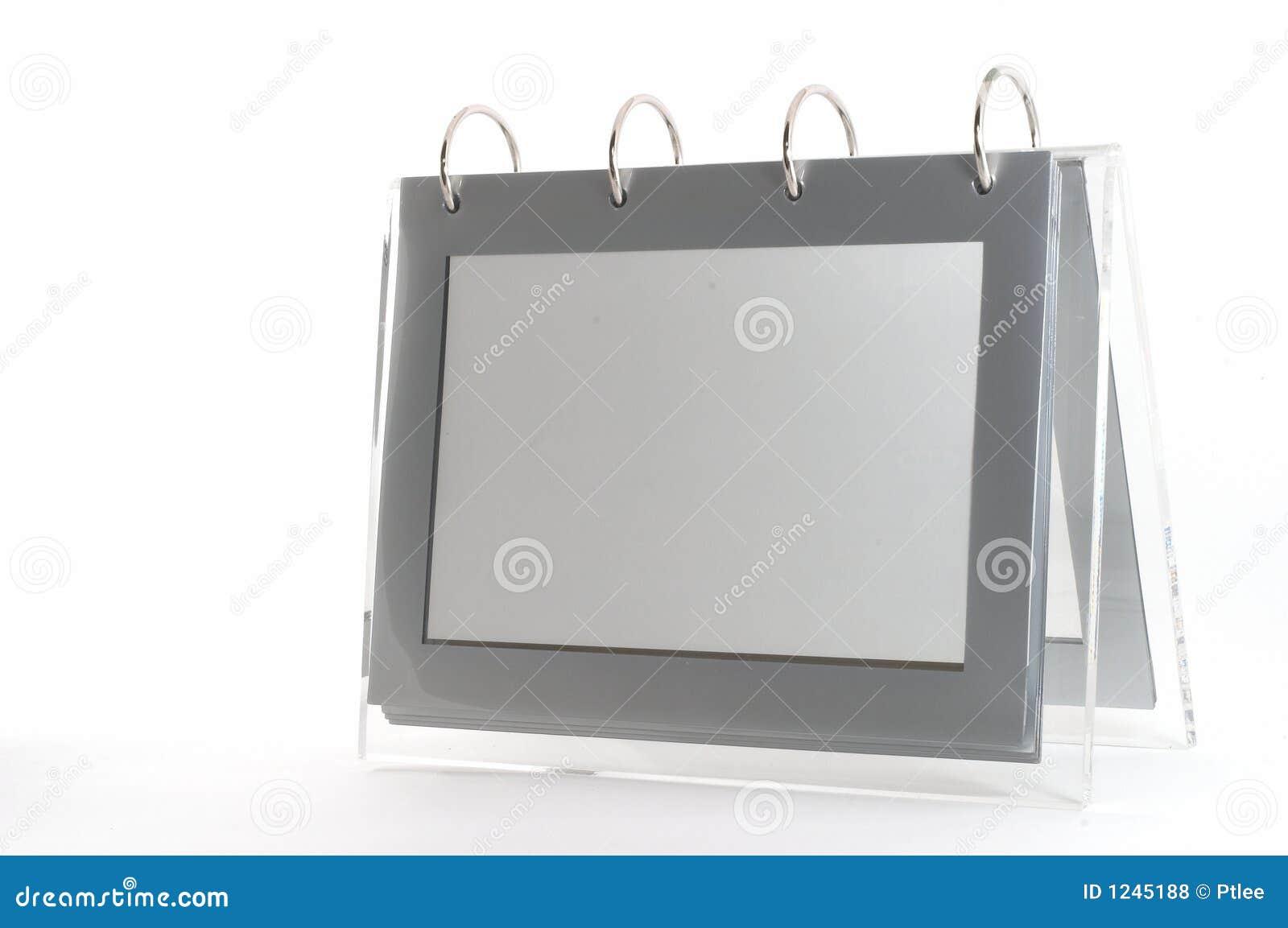 Pusty ramowy binder zdjęciu pierścionka