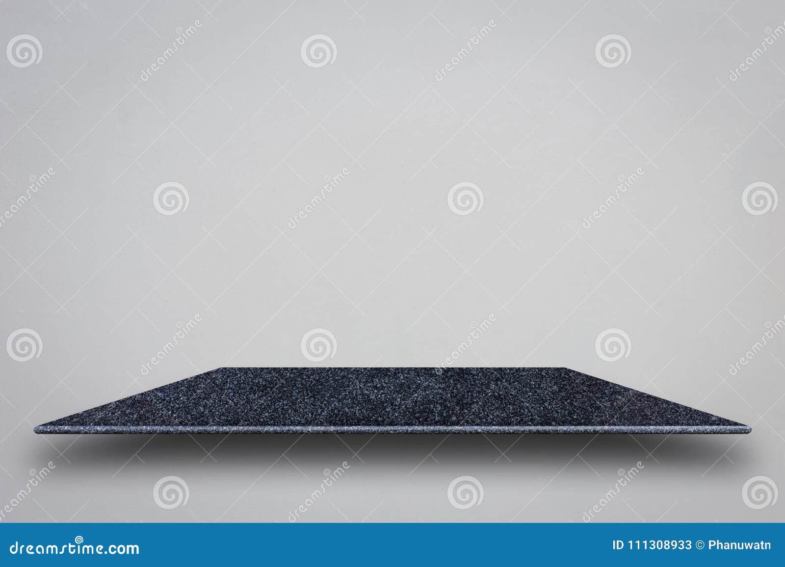 Pusty wierzchołek naturalne kamień półki i kamienna ściana dla produktu d