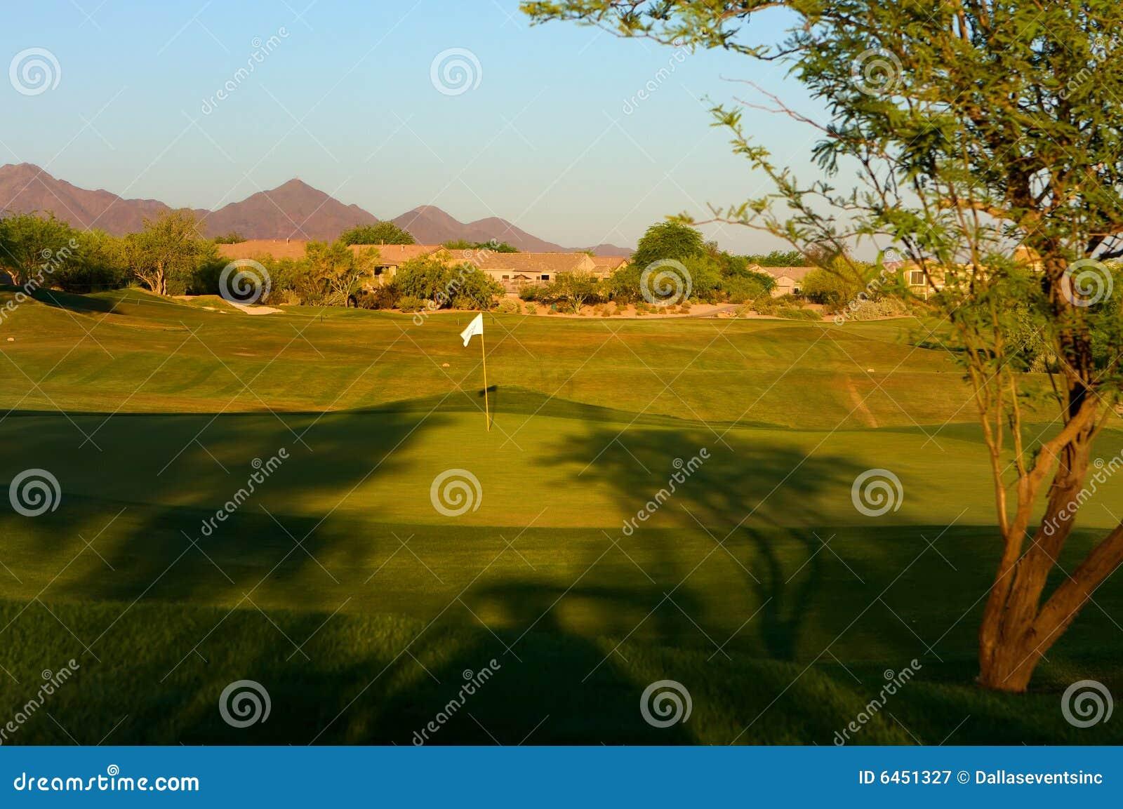 Pustyni arizona kursu golfa