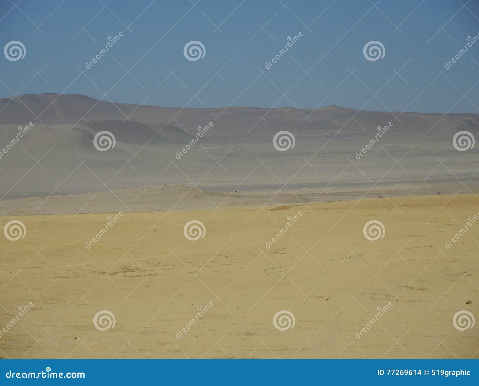 Pustynna krajobrazowa tekstura