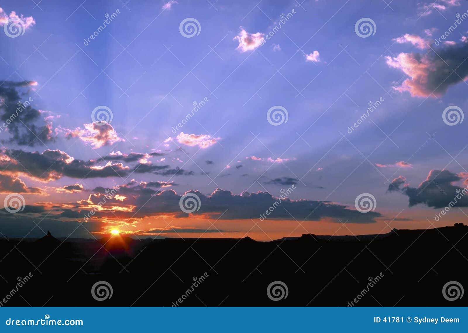Pustynne słońca