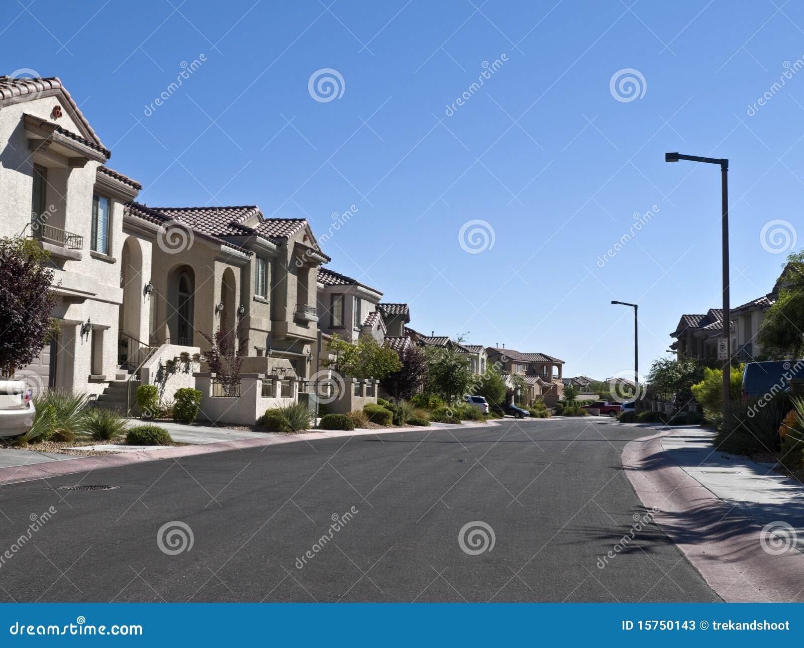 Pustynny bogaci przedmieścia