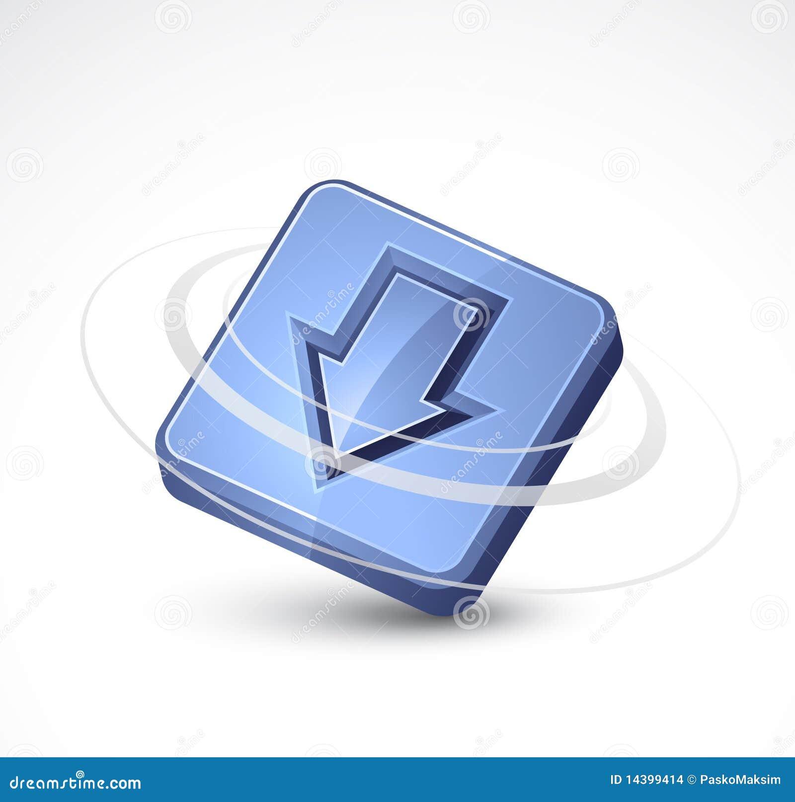 Puszek strzałkowata ikona