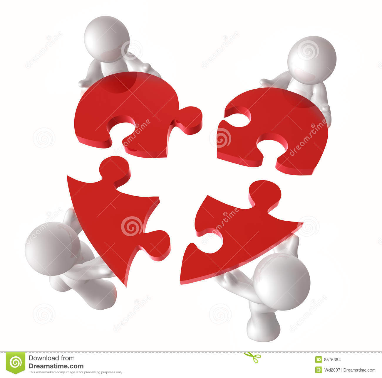 put together heart puzzle pieces stock illustrations 16 put
