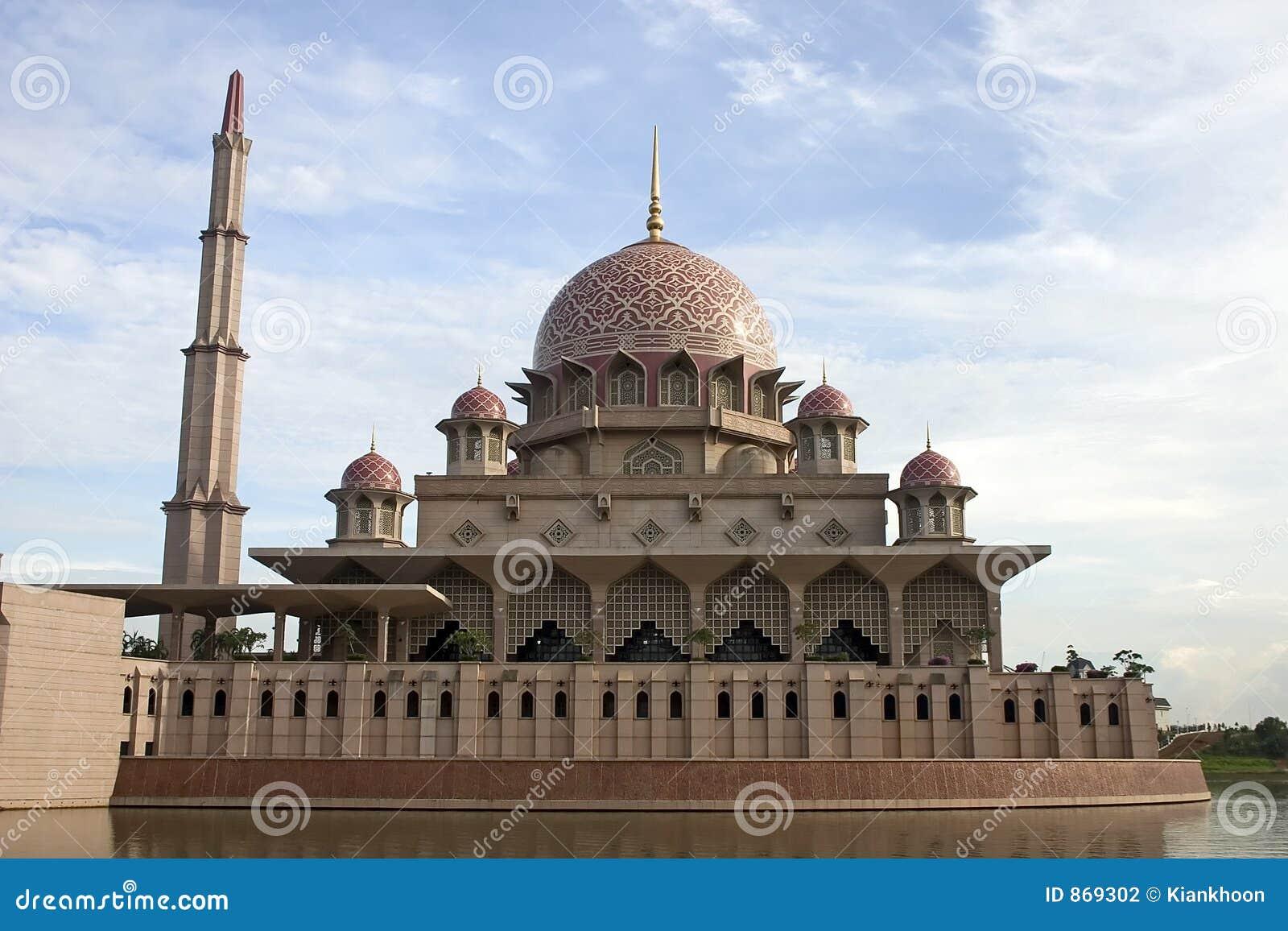 Putrajaya-Moschee, Kuala Lumpur, Malaysia.