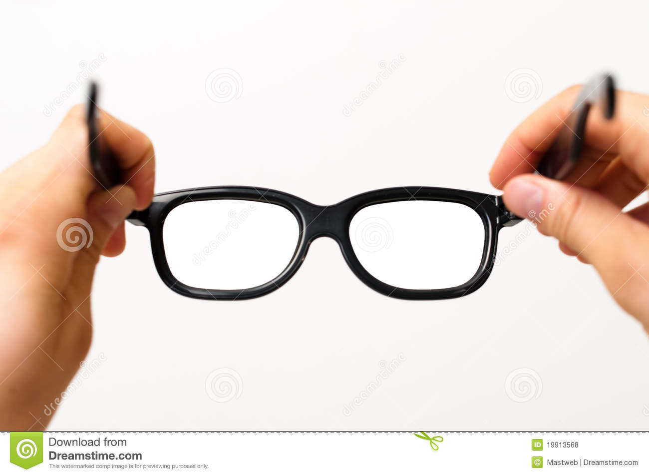 D Glasses For Person With Glasses