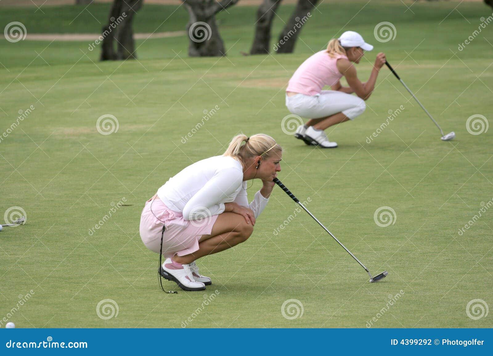 Putting, Ladies European Tour, Castelllon, 2006