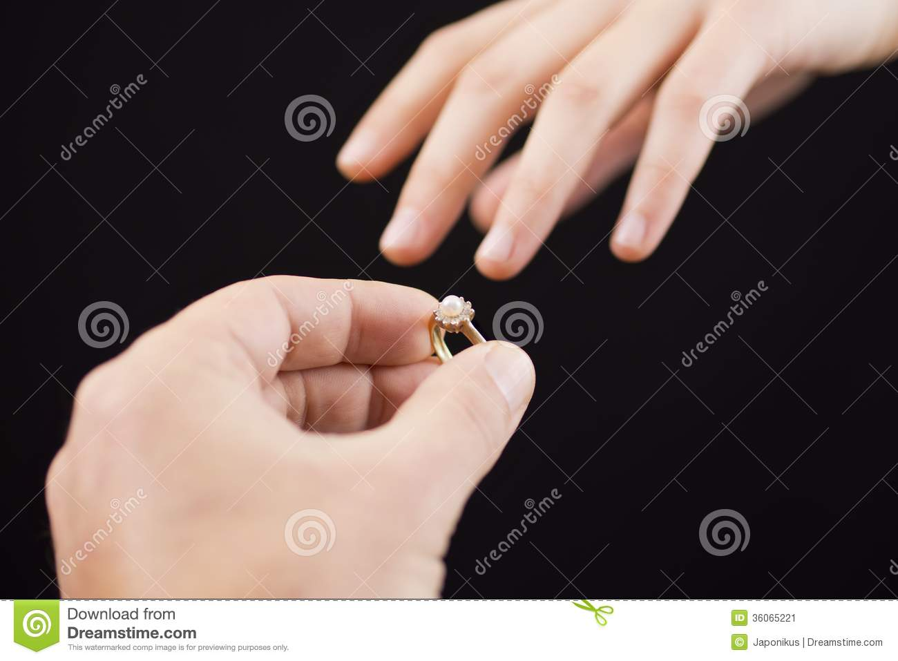 Putting A Ring On Girl\'s Hand Stock Image - Image of love, hand ...