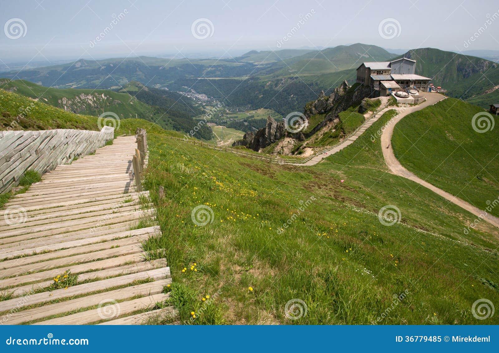 puy de sancy france stock image image of hiking beautiful 36779485. Black Bedroom Furniture Sets. Home Design Ideas