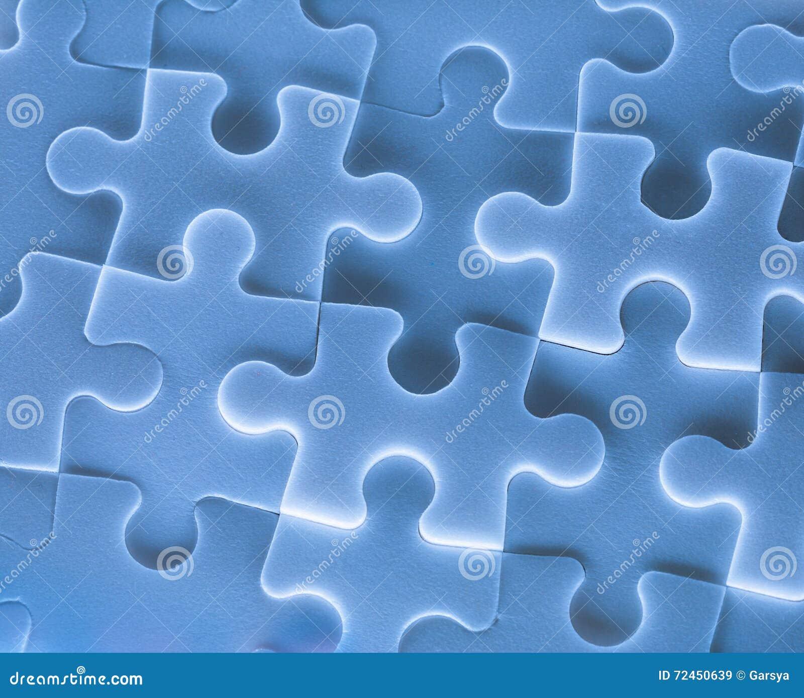 Puzzelstukken als achtergrond