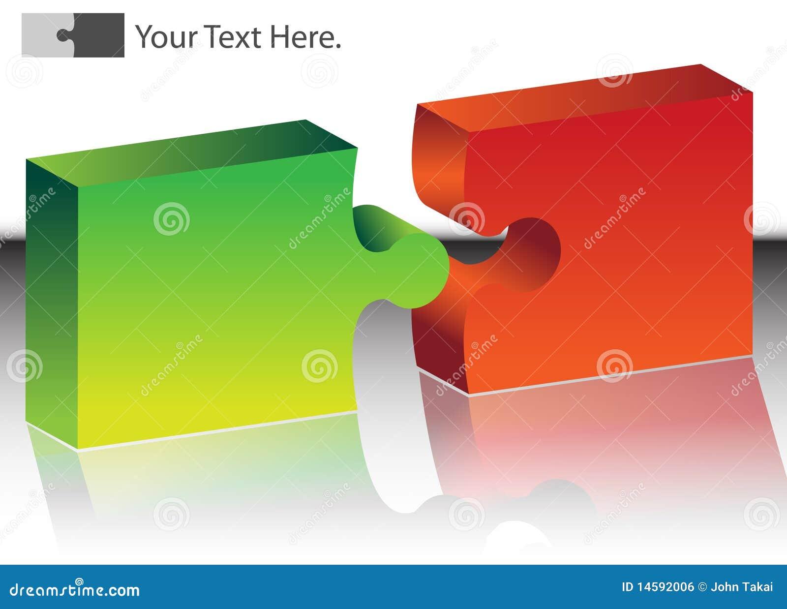 Puzzle illustrazione vettoriale immagine di concetto - Collegamento stampabile un puzzle pix ...