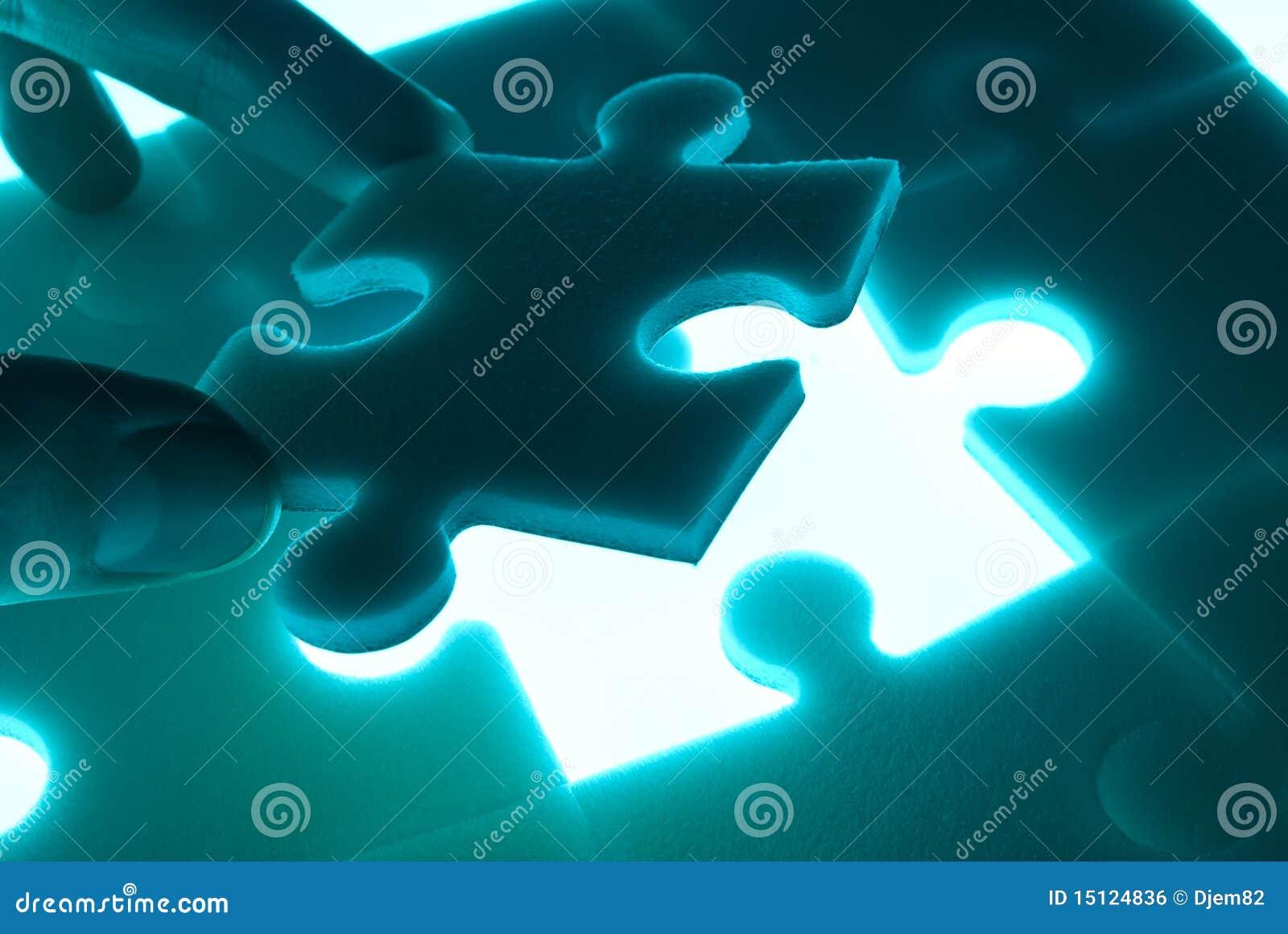 Puzzle immagine stock libera da diritti immagine 15124836 - Collegamento stampabile un puzzle pix ...