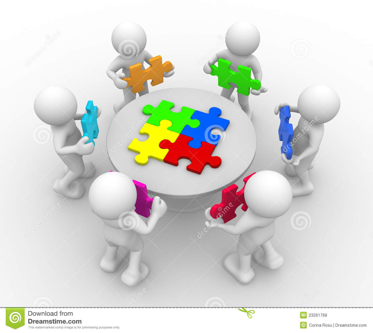 People Table Puzzle Stock Illustrations – 360 People Table Puzzle Stock  Illustrations, Vectors & Clipart - Dreamstime