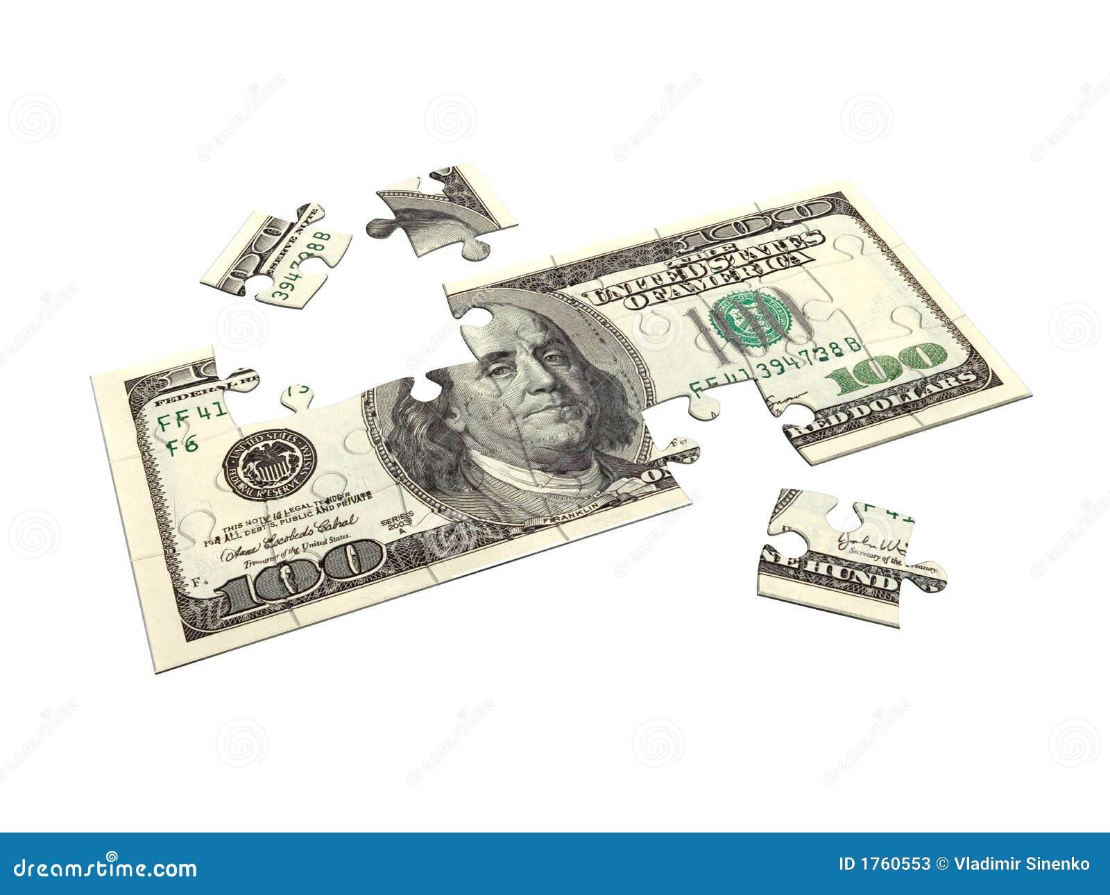 Puzzle 3D du dollar