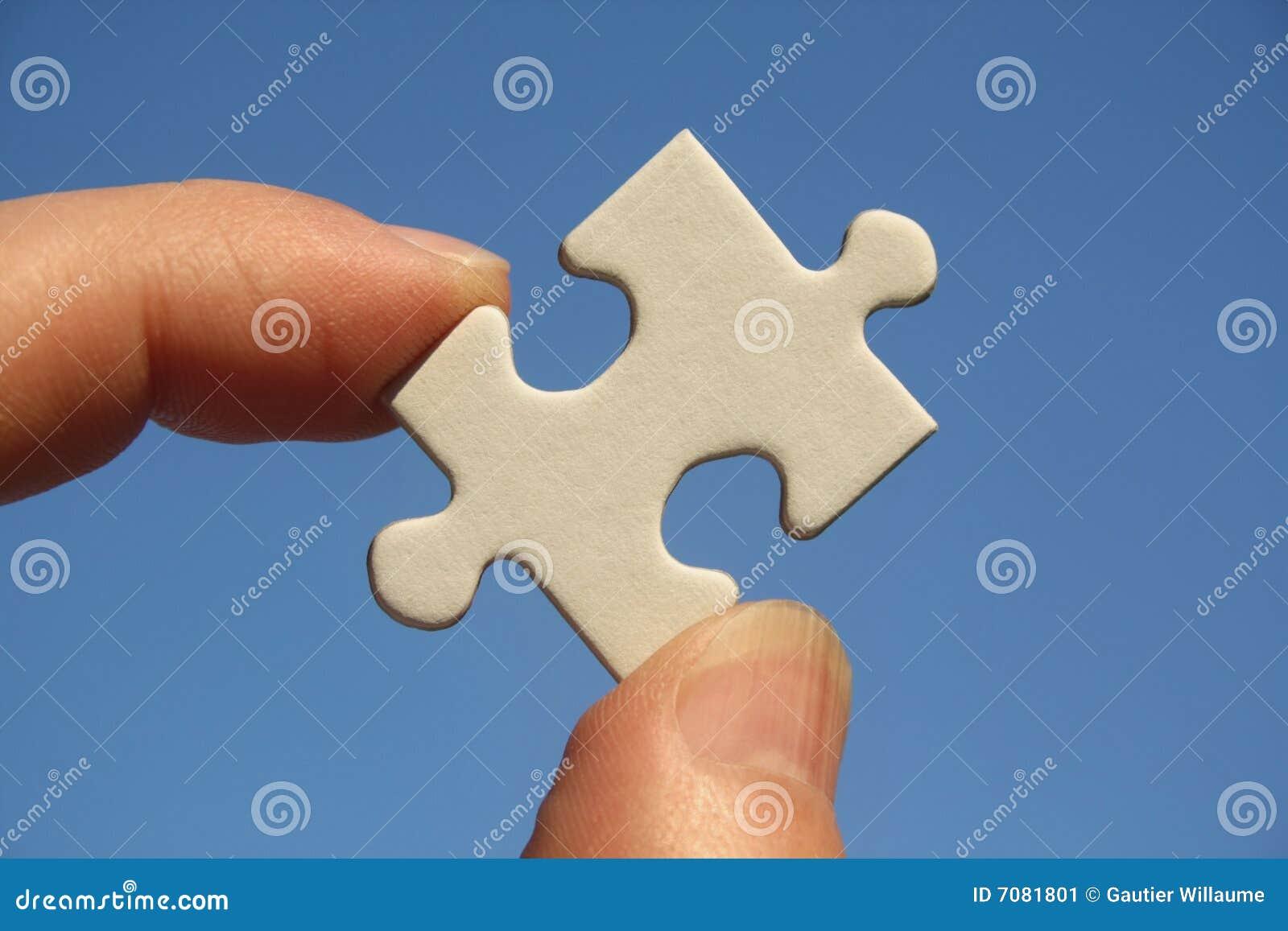 Puzzle in barrette dell uomo