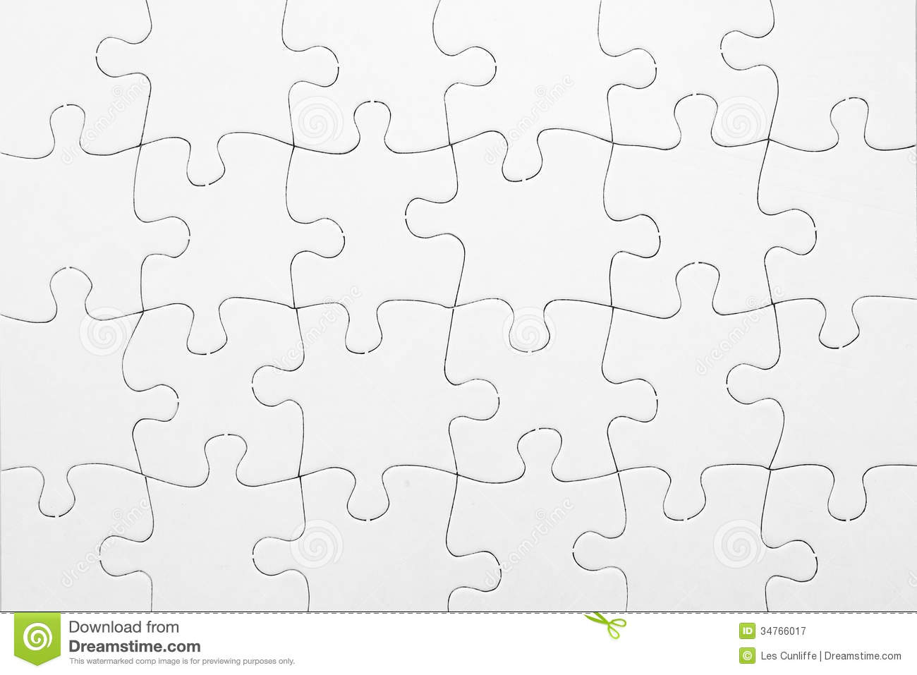 Puzzle Stock Image Image Of Finished Shapes Concept