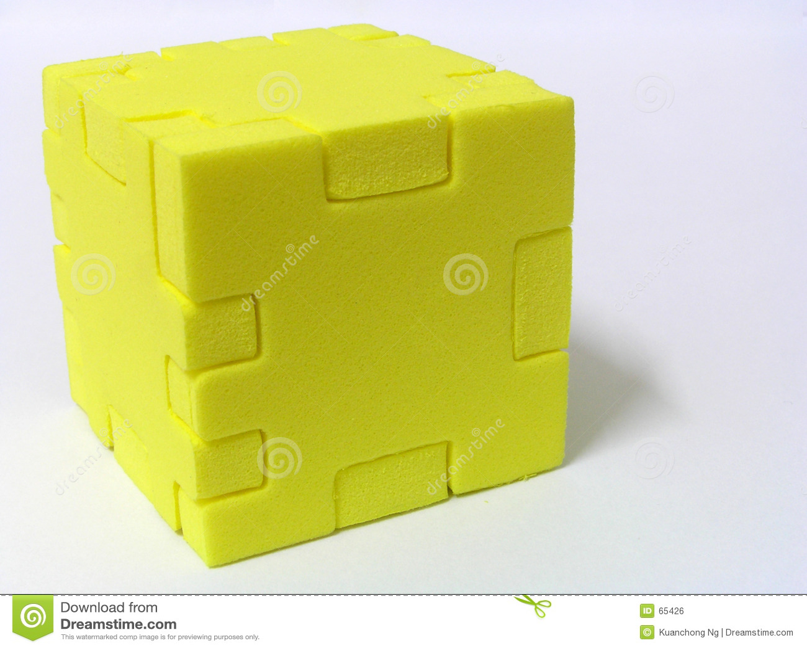 Puzzle - COLORE GIALLO