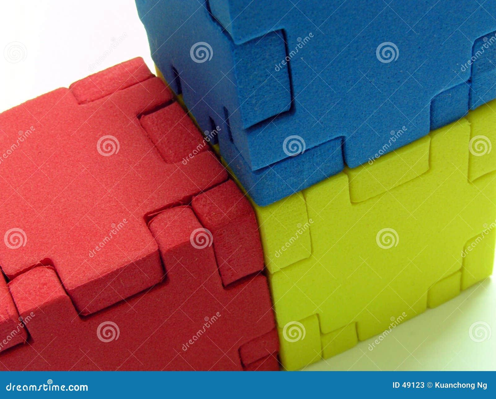 Puzzle - couleur primaire
