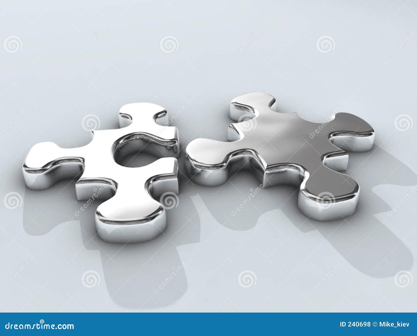 Puzzle de chrome