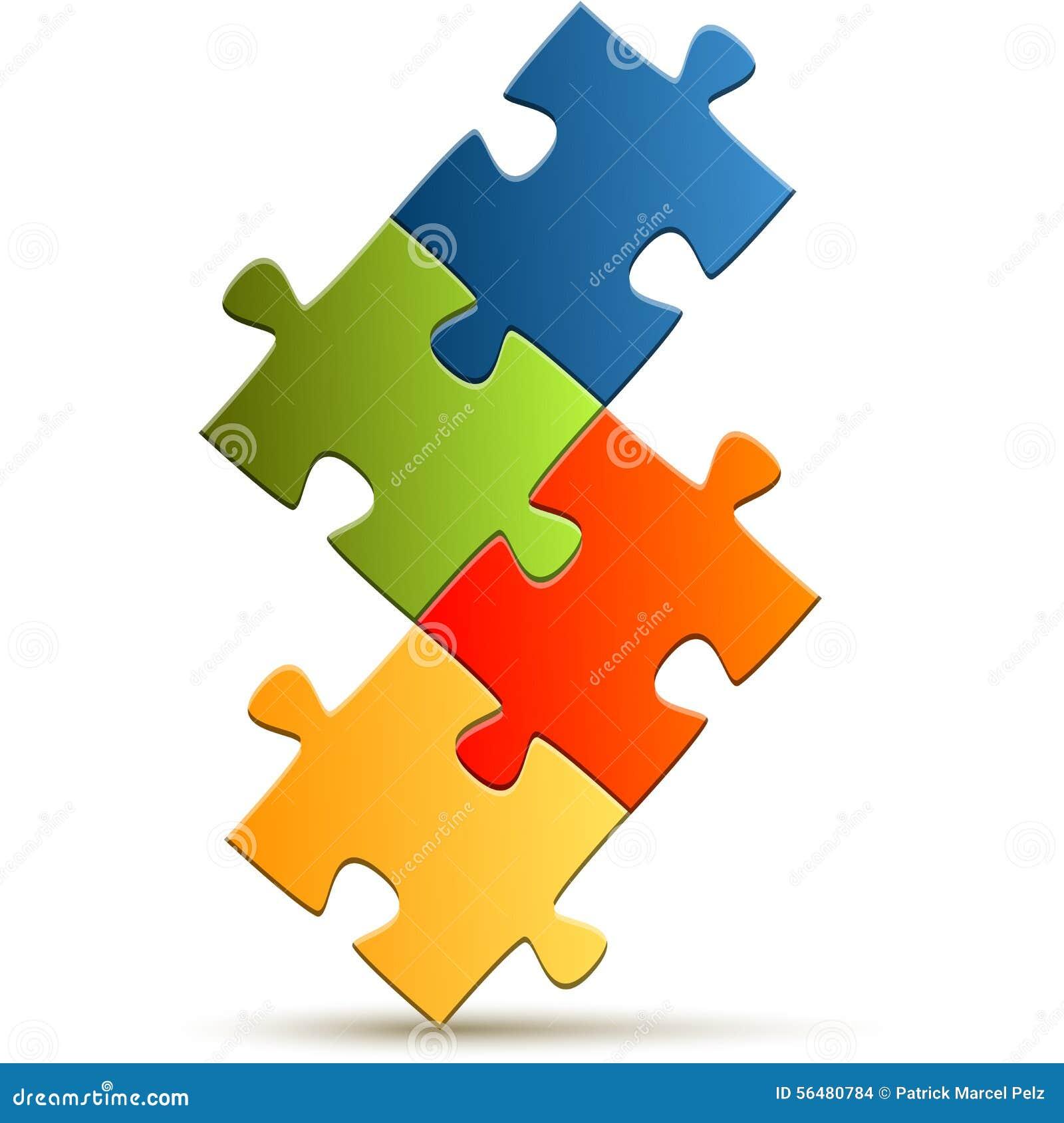 Puzzle de travail d équipe