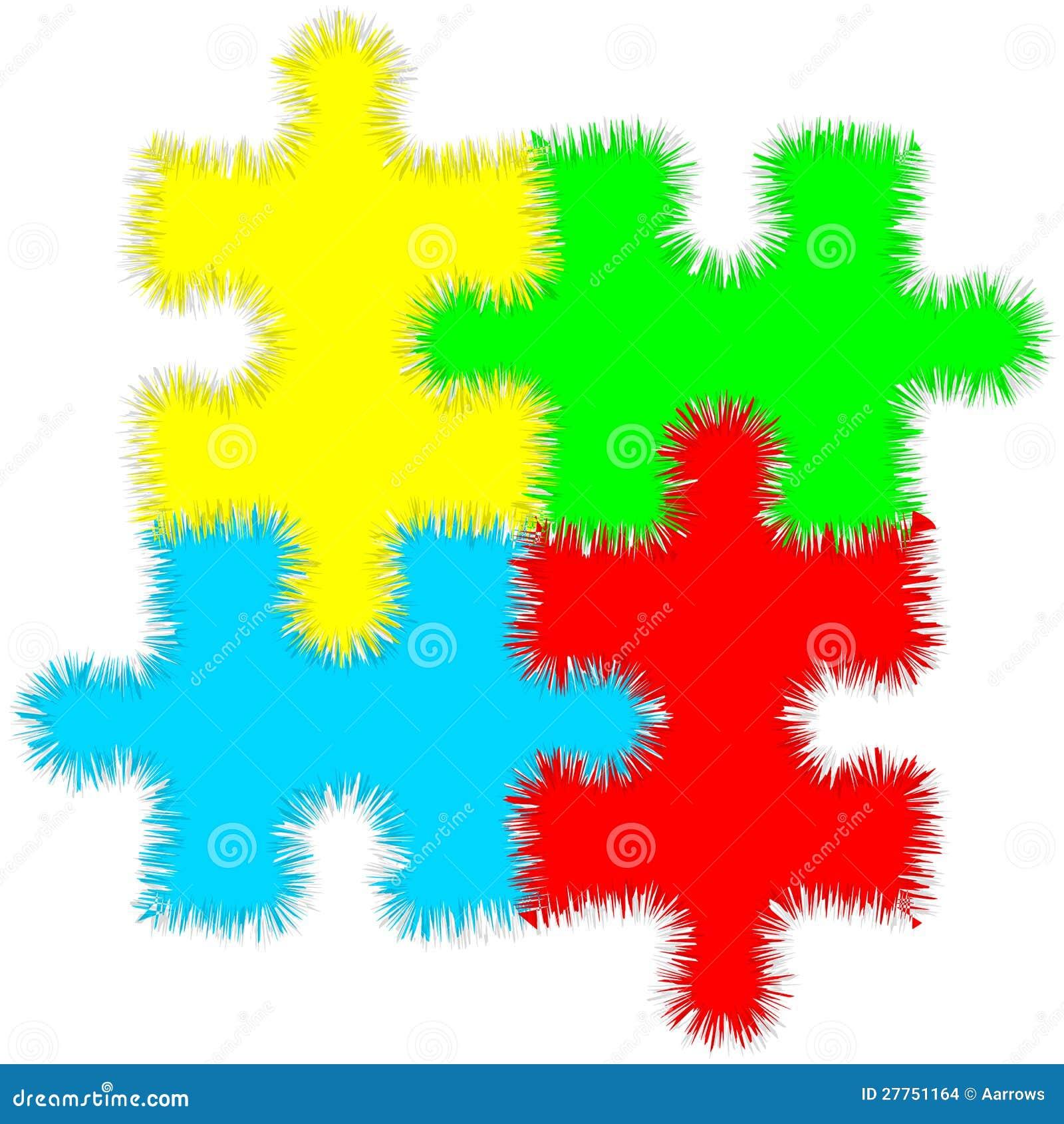 Puzzle denteux