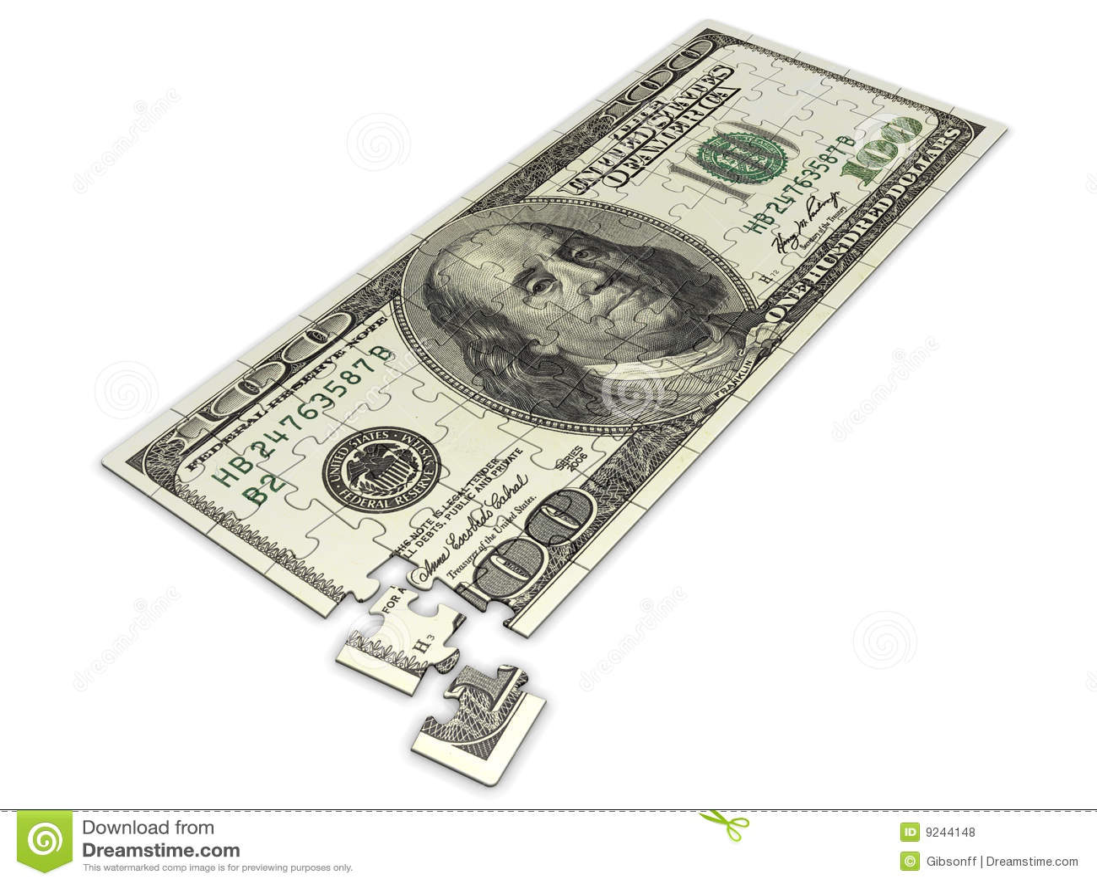 Puzzle du dollar