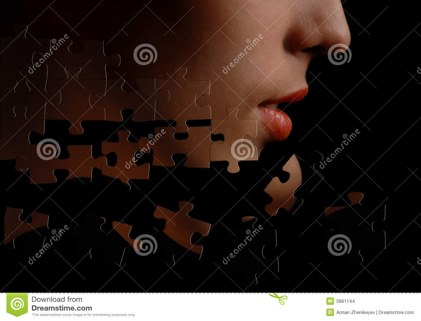 Puzzle-face