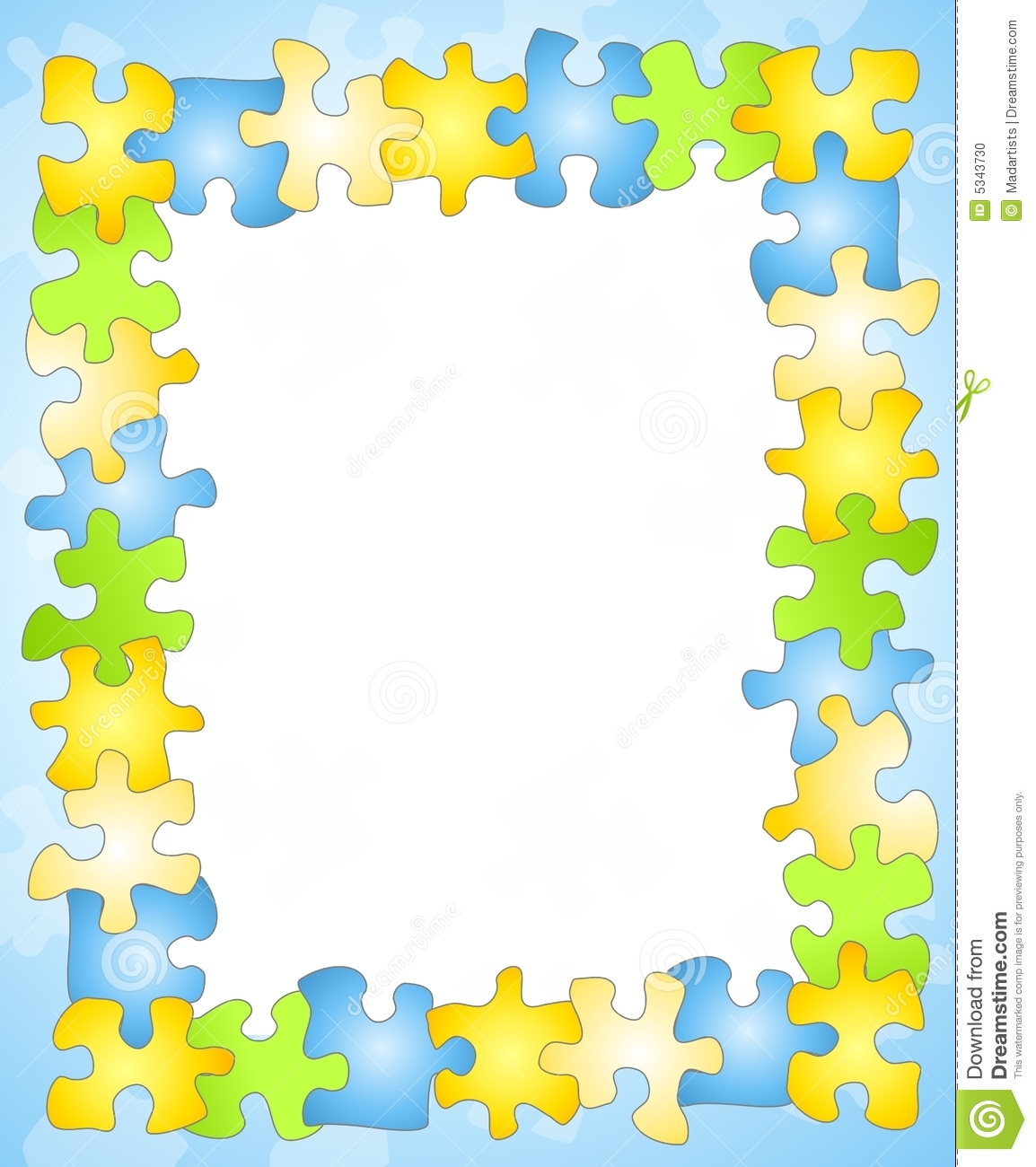 Puzzle Frame Border Background Stock Illustrations – 440 Puzzle ...
