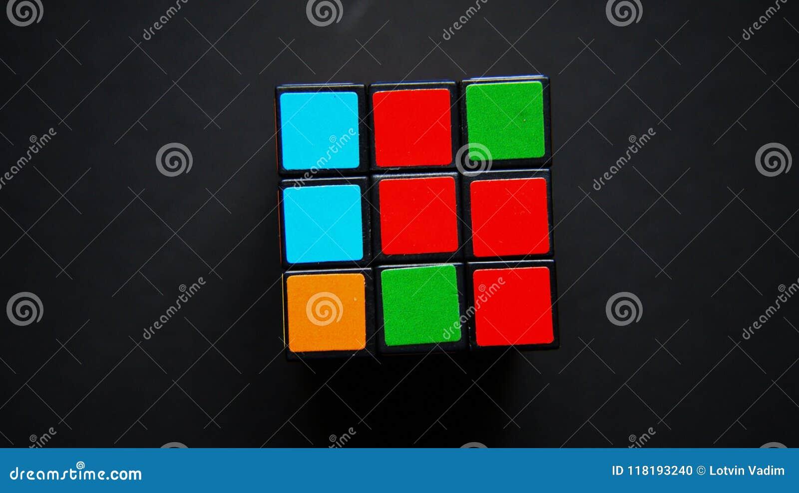 Puzzle mathématique de cube