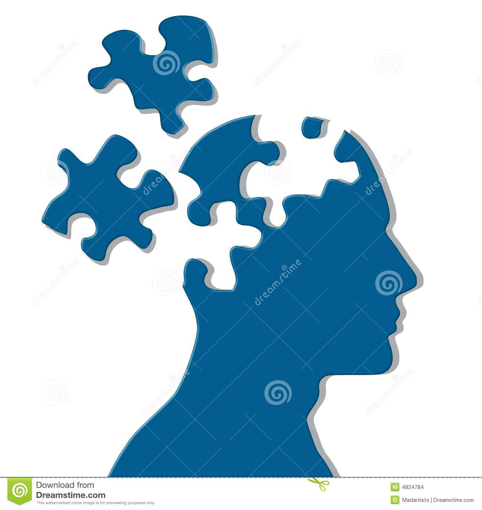 Puzzle mentale delle parti mancanti