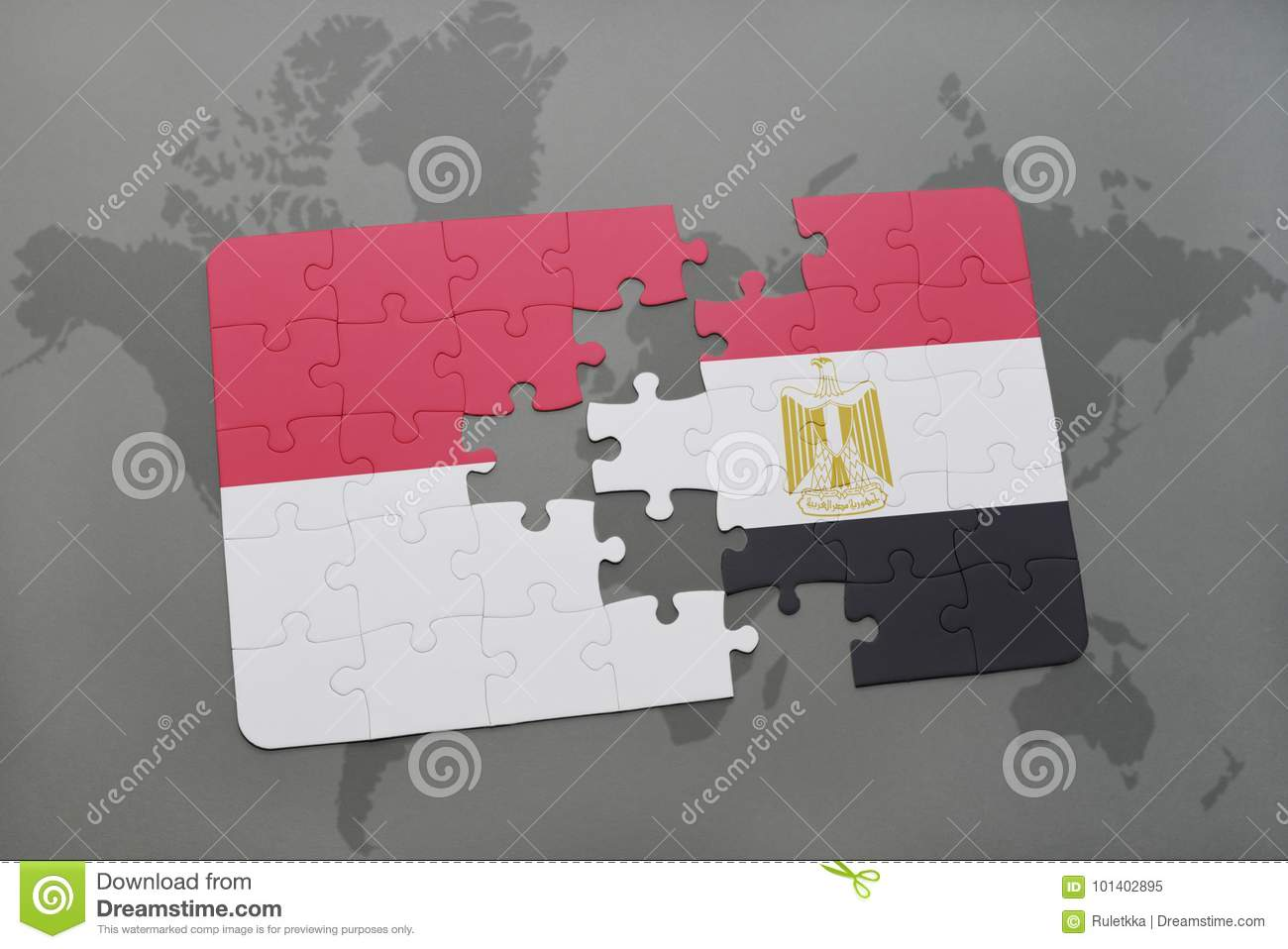 Puzzle With The National Flag Of Indonesia And Egypt On A ... on vector map indonesia, tv indonesia, travel map indonesia, satellite indonesia, map with physical features of indonesia,