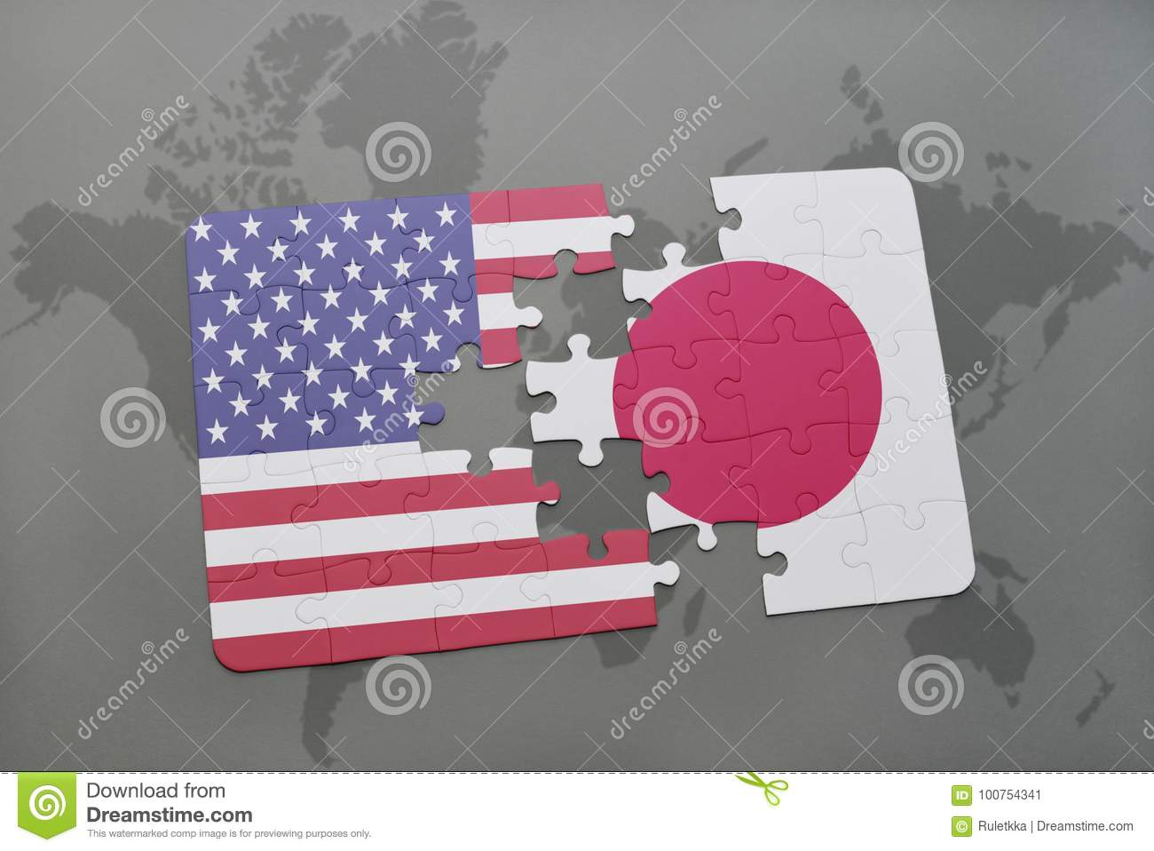 Puzzle with the national flag of united states of america and japan download puzzle with the national flag of united states of america and japan on a world gumiabroncs Images