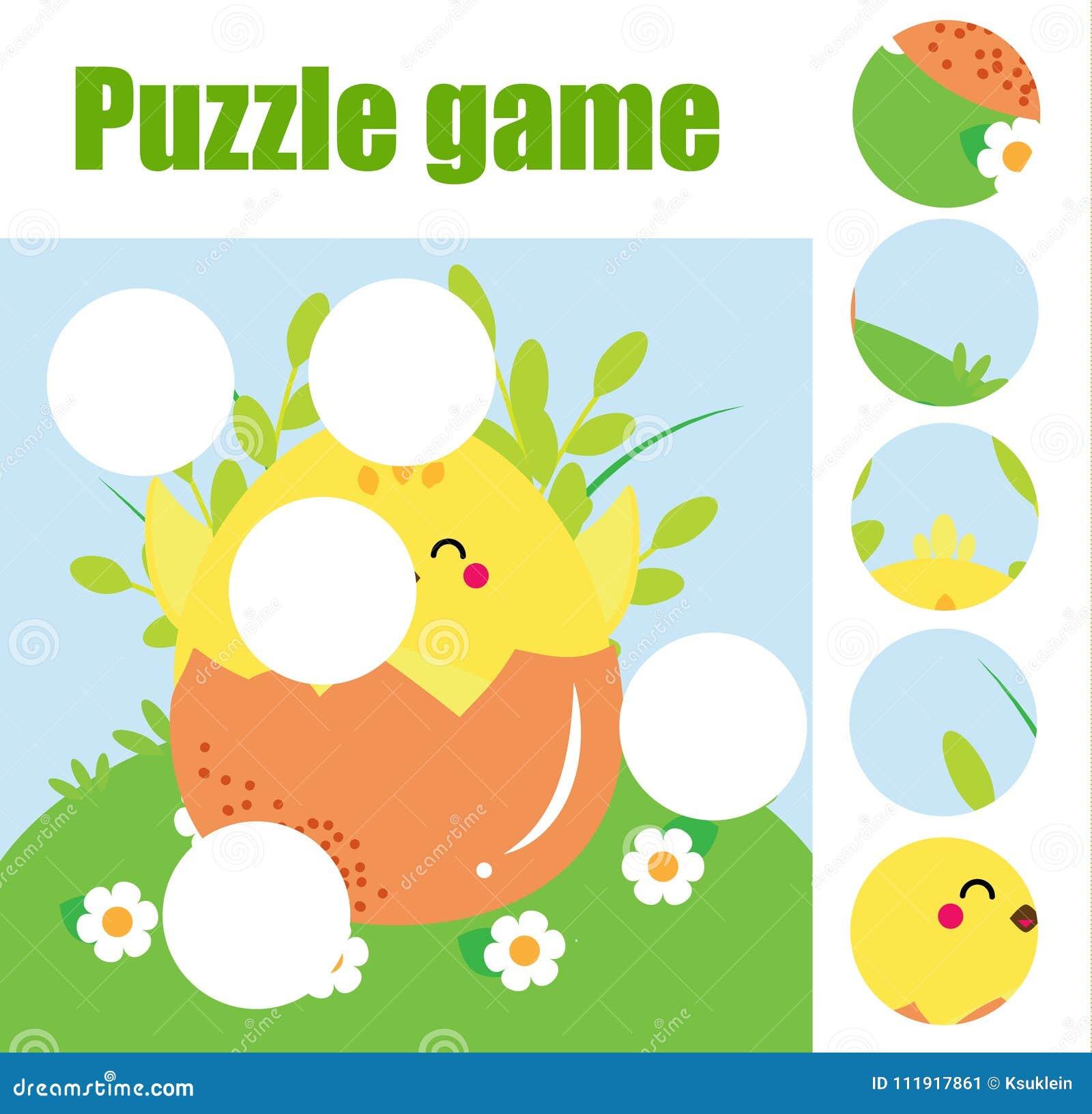 Puzzle per i bambini Gioco educativo di corrispondenza dei bambini I pezzi della partita e completano l immagine Attività per pre