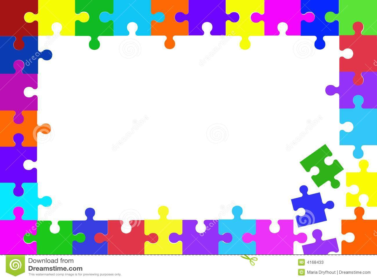 jigsaw puzzle piece frame