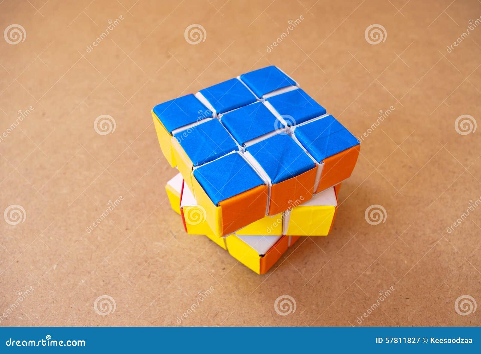 Кубик рубика из бумаги своими руками 37