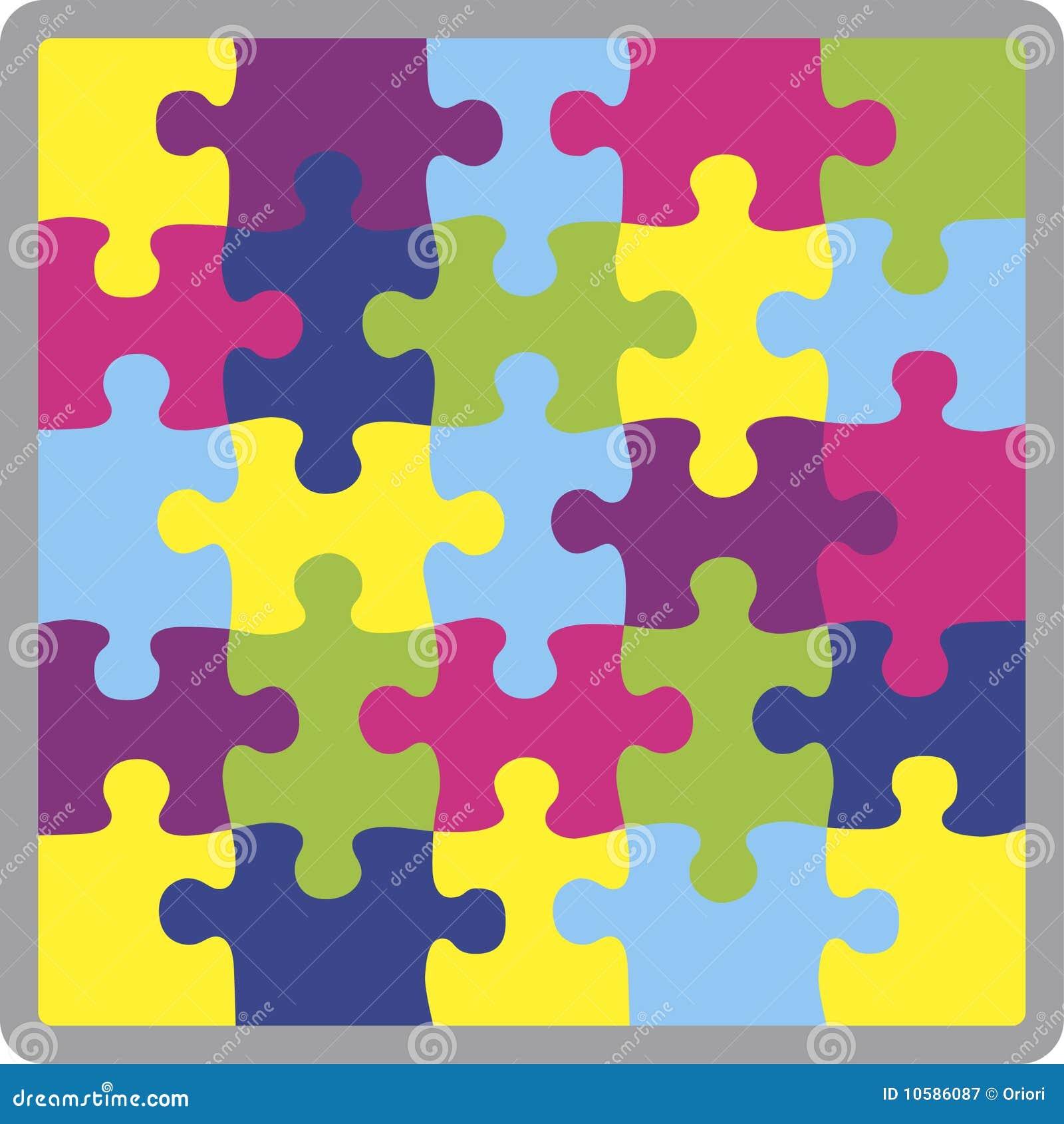 Puzzle Shape Royalty Free Stock Photography - Image: 10586087
