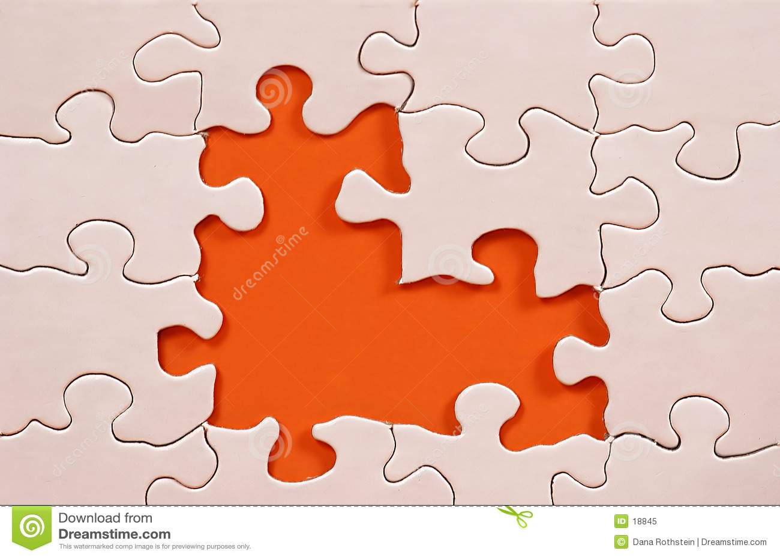 Puzzlespiel-Feld