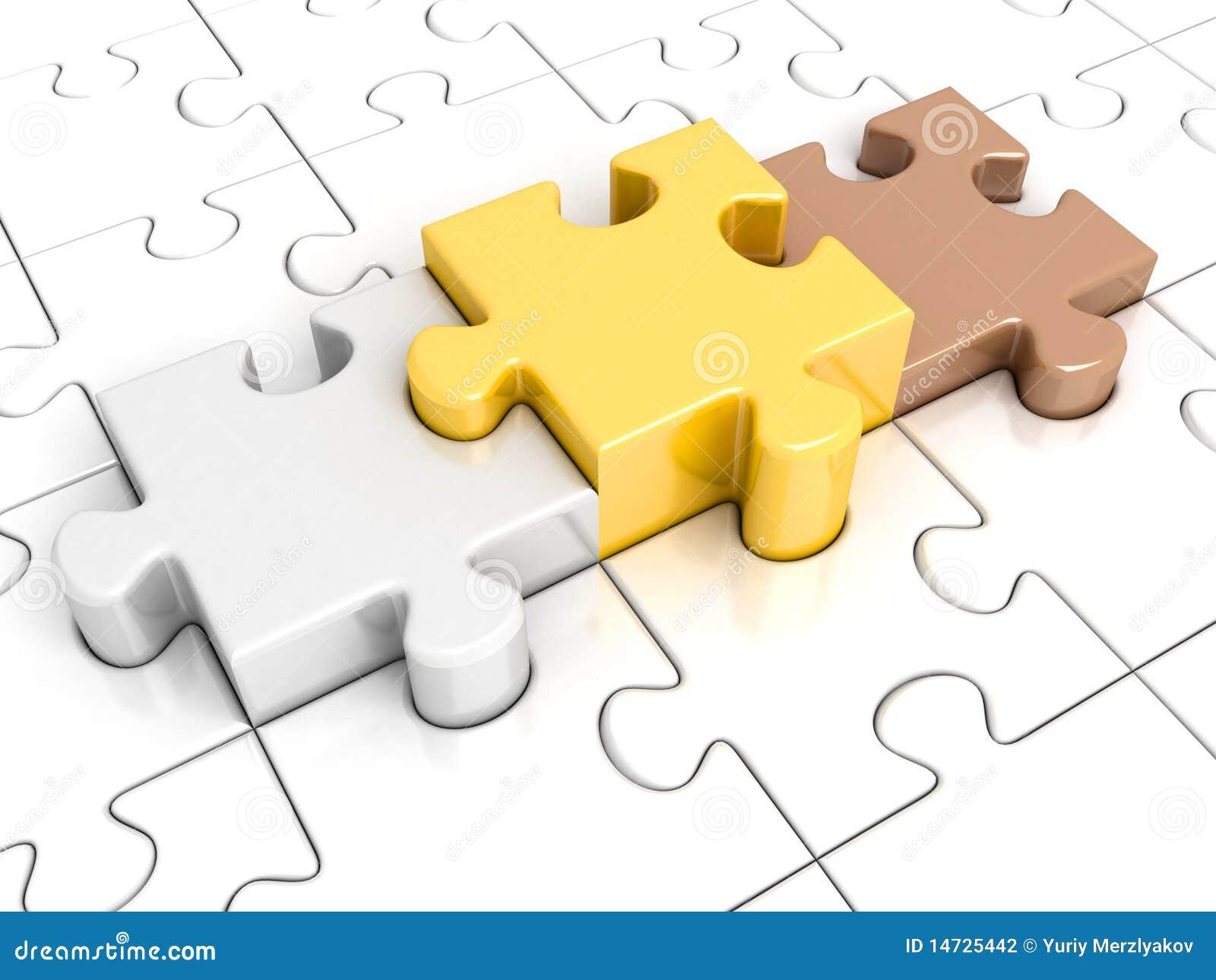 Puzzlespiel mit Podium