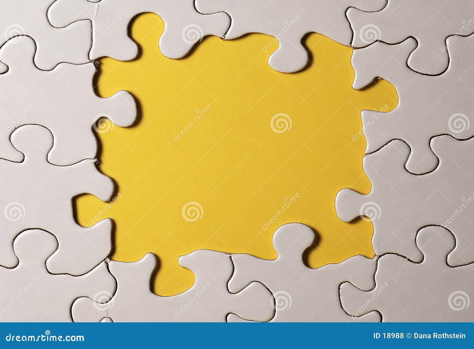 Puzzlespiel-Rand