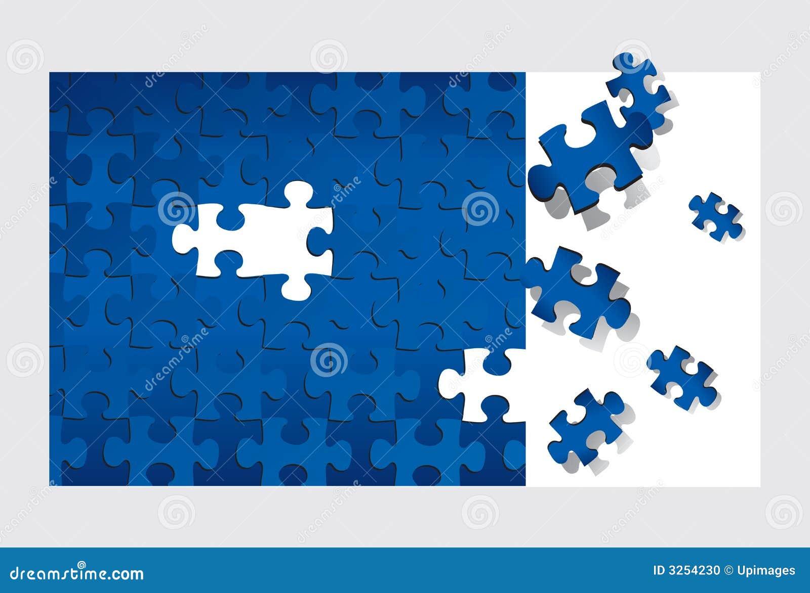 Puzzlespiel (Vektor)