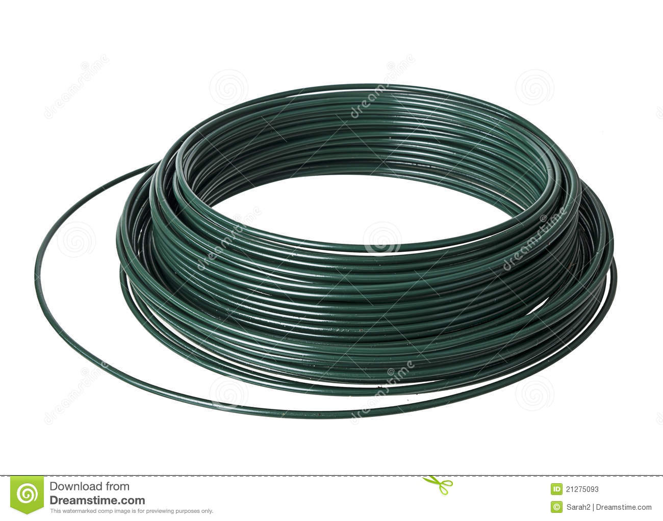 Pvc coated wire roll stock photos image
