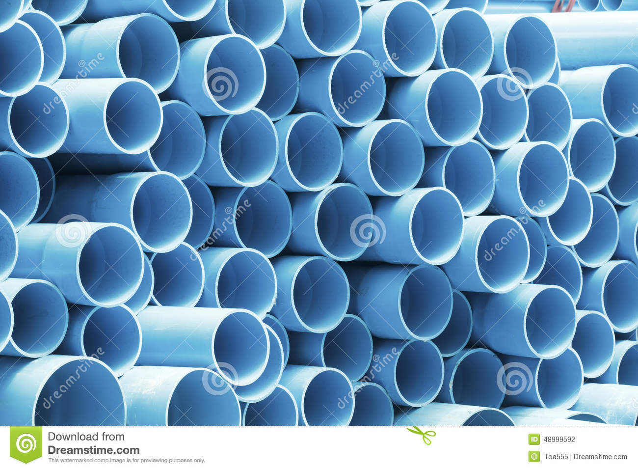 Pvc Pipes For Drinking Water Stock Photo Image Of